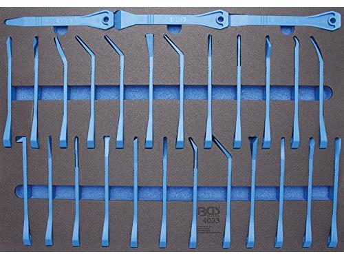 CHOLLITOS BGS Workshop Trolley Trim Chisel and Scraper Set