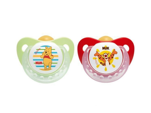 Chupetes Disney Pack de 2 chupetes de látex natural Disney Winnie The