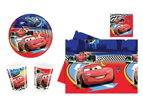 Set party Cars2 Set para fiesta de cumpleaños cars
