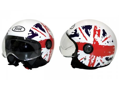 701-Fashion-GB Casco semi abierto serie 701 Fashion blanco con