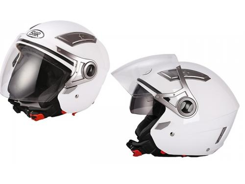 709-Double-B-M Casco de moto estilo jet model Double 709 de color