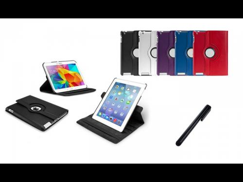 CHOLLITOS Smart cover girevole per iPad o Galaxy Tab con o senza