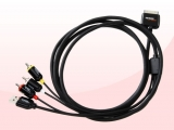Cable AV compuesto para iPod. iPhone y iPad (2 m)