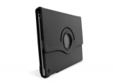 Funda de polipiel negra para iPad Air con doble soporte y pliegue de seguridad  materiales de alta calidad funda Ipad Air funda tableta giratoria EAN 8433772009834