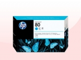 HP Cartucho de tinta cian de 175 ml HP 80