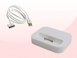 Mini base dock para iPhone 4/4S + cable USB