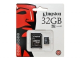 Tarjeta Kingston microSD de 32 Gb class 4
