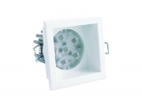 Linealight LED - Einbaustrahler KENNY 24/L 80 mm - B 80 mm/weiss IP 44 94319W30  EAN 8033913260751